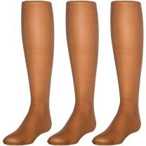 Trimfit Girls Sheer Toe Pantyhose with Spandex Pack of 3 Kids Tights
