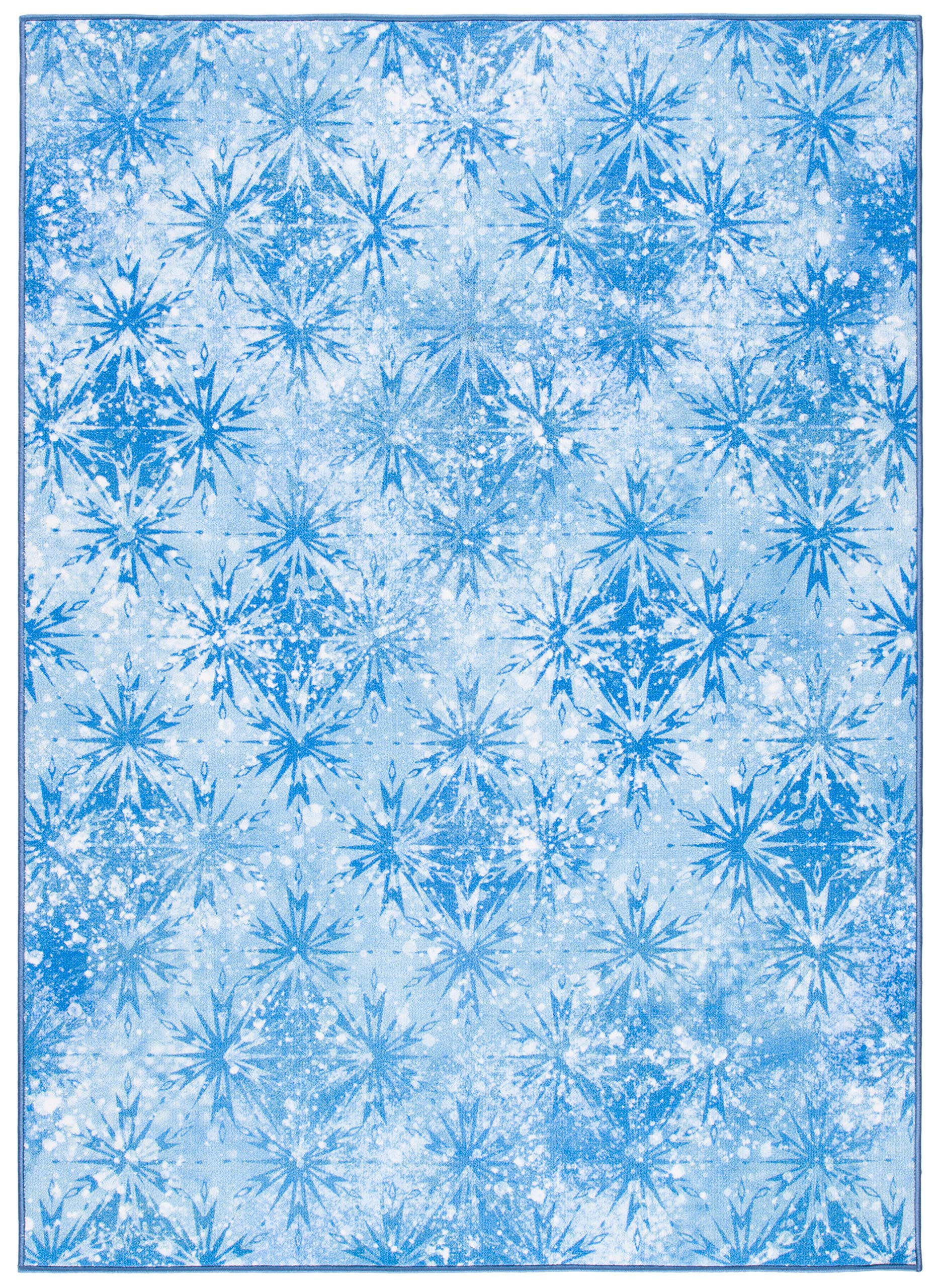 Safavieh Collection Inspired by Disney's Frozen II - Ice Rug (5' x 7')