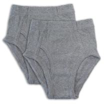 Key Chain Cotton Panties for Boys - Full Cut Underwear Briefs (2 Pack)