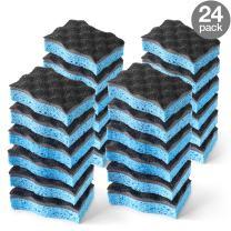 O-Cedar Heavy Duty Scrunge Scrub Sponge (Pack of 24)