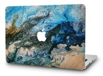 KECC Laptop Case for MacBook Air 13 Inch Plastic Case Hard Shell Cover A1466/A1369 (Sea)