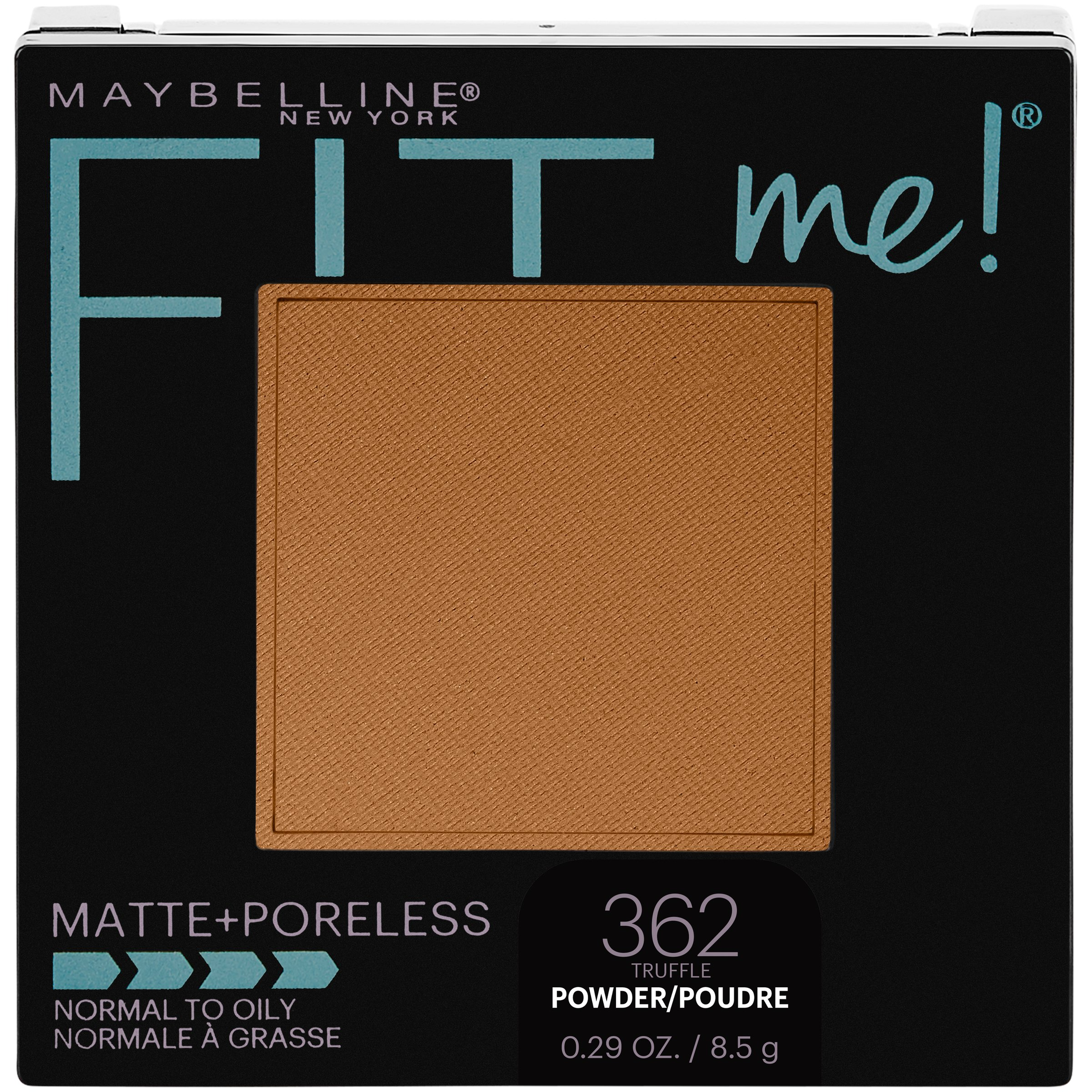 Maybelline New York Fit Me Matte + Poreless Pressed Face Powder Makeup, Truffle, 0.28 Ounce, Pack of 1