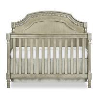 Evolur Julienne 5-in-1 Convertible Crib, Pewter/Antique Bronze