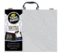 Crayola Take Note, Colorful Writing Art Case, Bullet Journal Supplies, Gift