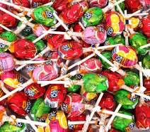 Easter JOLLY RANCHER Lollipops Hard Candy, Original Flavors Candy Pops, Bulk Pack 2 Lbs
