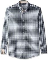 Nautica Men's Big and Tall Marine Check Shirt
