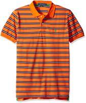 U.S. Polo Assn. Men's Striped Pique Classic Fit Shirt