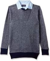 The Children's Place Big Boys' Kid Long Sleeve 2fer Sweater