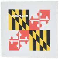 3dRose qs_45066_1 State Flag of Maryland Quilt Square, 10 by 10-Inch