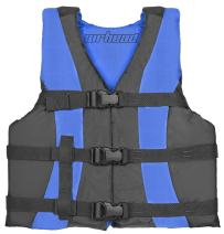 AIRHEAD Value Series Life Vest, XS/Teen, Sky Blue