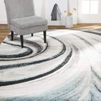 "Home Dynamix Odette Area Rug, 5'2""x7'2"" Rectangle, Gray/Blue"