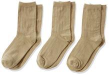 Jefferies Socks Big Boy's Rib Dress Crew Socks (Pack of 3)