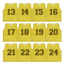 Athllete DURAMESH Set of 12 - Scrimmage Vest/Pinnies/Team Practice Jerseys with Free Carry Bag.