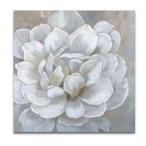WEXFORD HOME Bombshell Bloom Gallery Wrapped Canvas Wall Art, 40x40