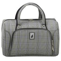 "London Fog Knightsbridge II 17"" Cabin Bag, Grey Sapphire Plaid"