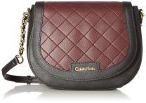 Calvin Klein Key Item Saffiano Novelty Saddle Bag