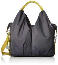 Lassig Womens Green Label Neckline Diaper Bag - Denim Blue