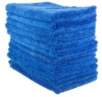 """Zwipes 606-13 13 Pack Large Microfiber Cloth, Ultra Plush & Absorbent, Perfect Cleaning, Wash or Car Detailing-16 x 16"""" (12 Towels + 1 Free), 13 Pack"""