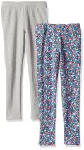Amazon Brand - Spotted Zebra Girls Cozy Fleece Leggings