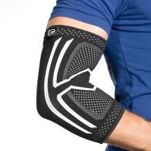 Elbow Compression Sleeve - Men & Women Support Brace for Tendonitis, Arthritis, Bursitis