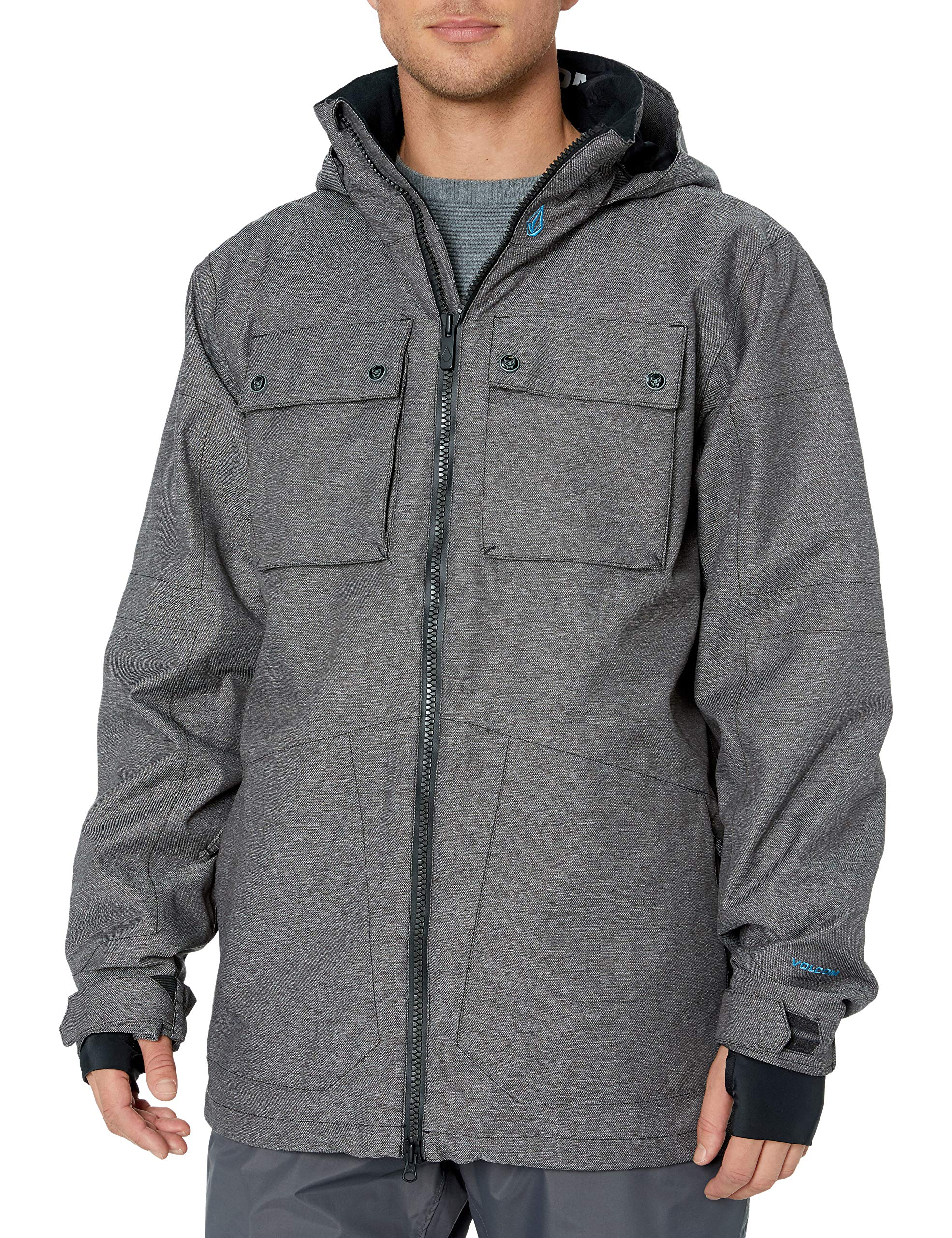 Volcom Men's Pat Moore 3-in-1 2 Layer Stretch Snow Jacket
