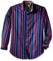 Robert Graham Men's Big Kelvingrove Long Sleeve Button-Down Shirt