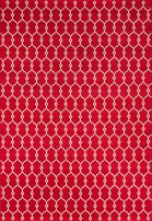 """Momeni Rugs , Baja Collection Contemporary Indoor & Outdoor Area Rug, Easy to Clean, UV protected & Fade Resistant, 6'7"""" x 9'6"""", Red"""