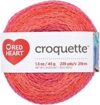 RED HEART E887.9930 Croquette crochet thread Red Hot