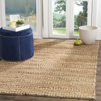Safavieh Natural Fiber Collection NF212A Hand-woven Jute Area Rug, 4' x 6'