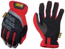 Mechanix Wear 2X Black And Red FastFit Full Finger