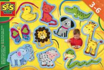 SES Creative Embroidering with Laces Fun to Create