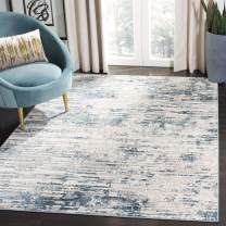 Safavieh Vogue Collection VGE145A Cream and Teal (10' x 14') Area Rug
