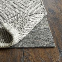 """RUGPADUSA, Anchor Grip, 3' Round, 1/8"""" Thick, Felt + Rubber, Low Profile Non-Slip Round Rug Pad, Available in 3 Thicknesses, Many Custom Sizes, Safe for All Floors"""