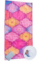 Bondi Safari Microfiber Beach Towel (Large & XL) - Quick Dry, Sand Free, Travel Beach Towel in Designer Paisley, Tropical & Boho Beach Towel Prints for Beach, Travel, Cruise, Outdoor, Gifts for Women