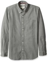 Amazon Brand - Goodthreads Men's Slim-Fit Long-Sleeve Denim Shirt