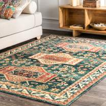 "nuLOOM Rana Transitional Area Rug, 6' 7"" x 9', Blue"