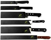 EVERPRIDE Chef Knife Guard Set (6-Piece Set) Universal Blade Edge Cover Sheaths for Chef and Kitchen Knives – Knives Not Included