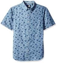 Reyn Spooner Men's Chambray Tailored Fit Hawaiian Shirt