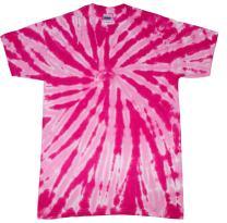 Colortone Tie Dye Twist Neon T-Shirt Kids & Adult up to 5XL