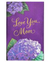 American Greetings Mother's Day Card (Purple Floral)