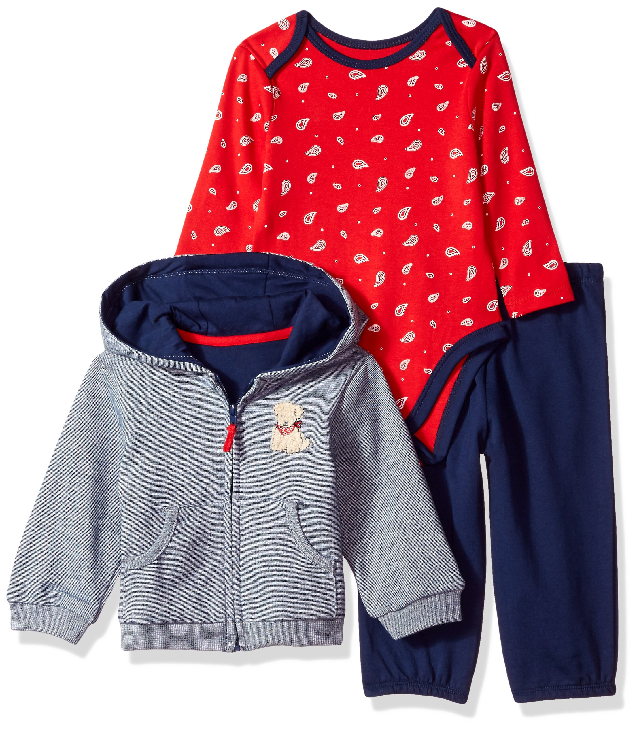 Little Me Baby Boys Newborn 3 Piece Set