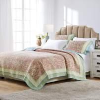 Barefoot Bungalow Palisades Pastel Quilt Set, Twin/Twin XL