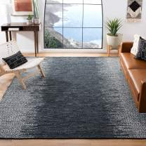 Safavieh Vintage Leather Collection VTL389B Light Grey and Charcoal Area Rug, 8' x 10'
