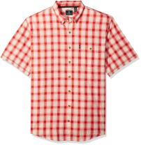 G.H. Bass & Co. Men's Big and Tall Madawaska Short Sleeve Shirt