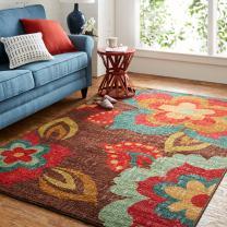 Mohawk Home Ayanna Floral Area Rug, Kaleidoscope