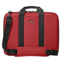 """Cocoon CLB403RD Murray Hill 16"""" Laptop Case includes GRID-IT! Accessory Organizer (Racing Red)"""