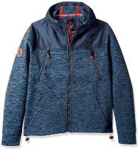 Superdry Men's Mountain Softshell Hybrid Zip Hooded Jacket