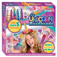 Klever Kits Create Your Own Unicorn Headband Girls Art & Craft Kit DIY Unicorn Fashion Headband Hair Accessories