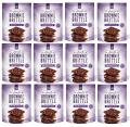 Sheila G's Brownie Brittle, Gluten-Free Dark Chocolate Sea Salt, 5 Ounce Bag (Pack of 12)