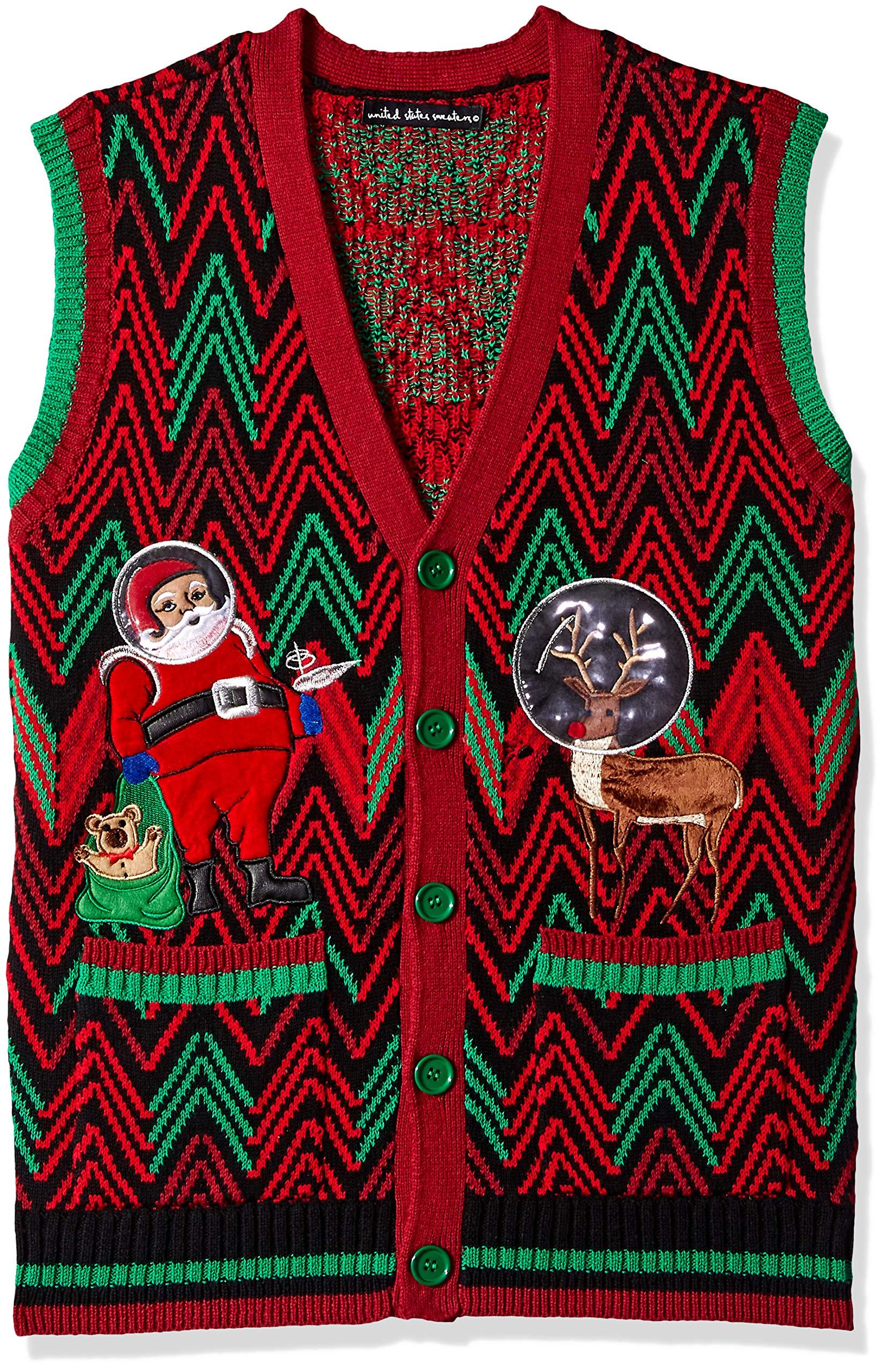 Blizzard Bay Men's Ugly Christmas Sweater Santa